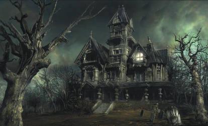 The Haunted House by DAN-KA