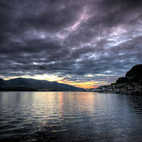 Ketchikan August Evening by Muskeg