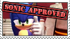 This Stamp is Sonic Approved by LightningChaos2010