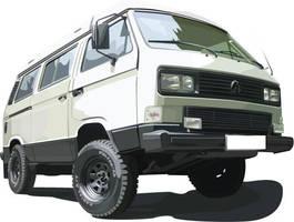 VW Bus Mk3 Syncro by eurojanek