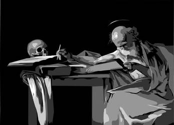 Caravaggio Value Study by timchris