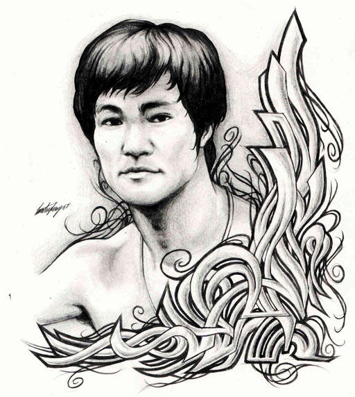 Bruce Lee by timchris