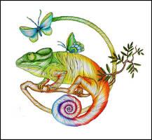 Chameleon by Dana-Ulama