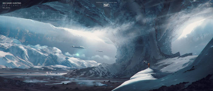 Big Game Ice Planet by simonfetscher