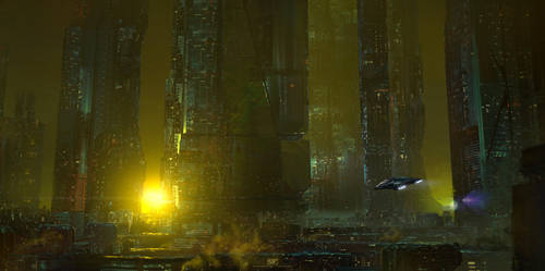 Dystopian Megacity by simonfetscher