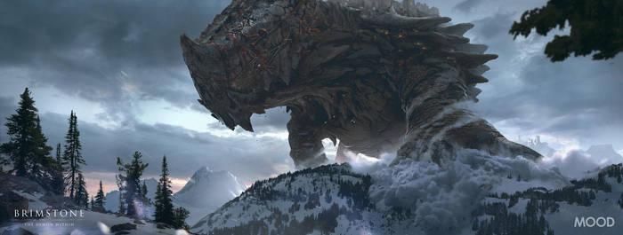 Gomorrah Traversing the Mountains by simonfetscher