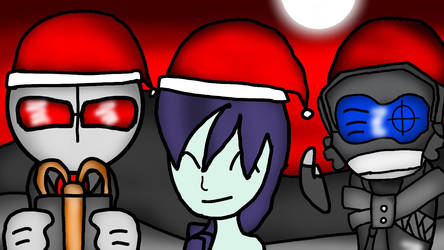 Madness Combat Day Christmas by CrystalBluHunter56