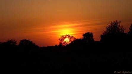 Romantic sunset by Zlajda95