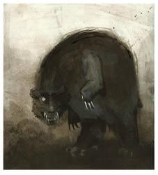 dumb bear by JenMussari