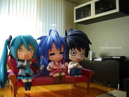 Nendoroid Gamers by vihena