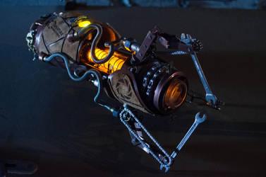 Steampunk Portal Gun - Orange by case15
