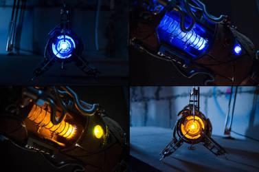 Steampunk Portal Gun - Lights by case15