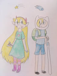 Star and Finn by katiemae12