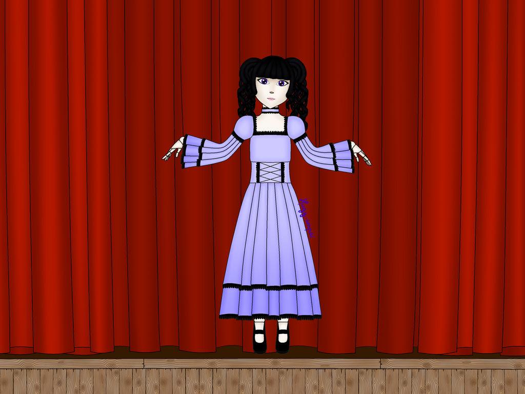 Lisa the doll by Hugy-senpai