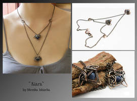 Kiara- wire wrapped necklace by mea00