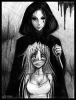 White Mask Killer by InferNeko