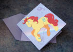 My Little Pony Papercraft Card by calzephyr