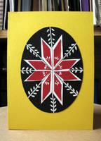 Psyanka Easter Greeting Card by calzephyr