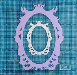 Ornate Frame Digital Download by calzephyr