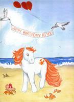 My Little Pony Birthday by calzephyr