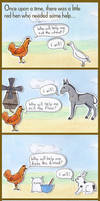 The Little Red Hen by calzephyr