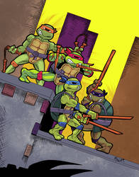 TMNT Action Figures by lordmylar06