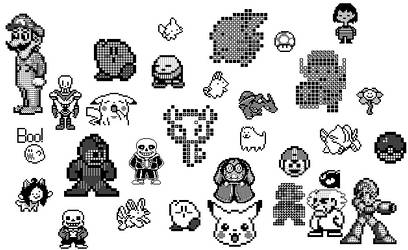 Pixel art 2 by PHCRohr