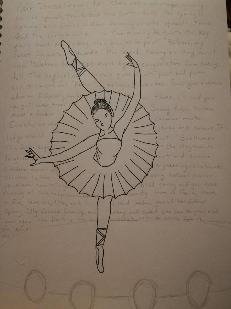 Herr Drosselmeyer's Doll by inky-peacock