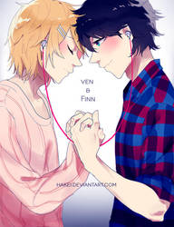 Ven + Finn Commission by hakei