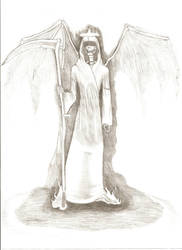 The Angel Of Death by 0Anesthetic4u