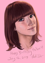 Happy Birthday Helen by minhdo