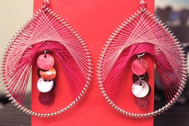Thread Earrings by minhdo