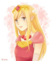 Princess of Hyrule by Abstractmeow