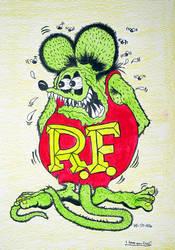 Rat Fink by emo-seal