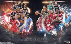 NBA Playoffs wallpaper by Kevin-tmac