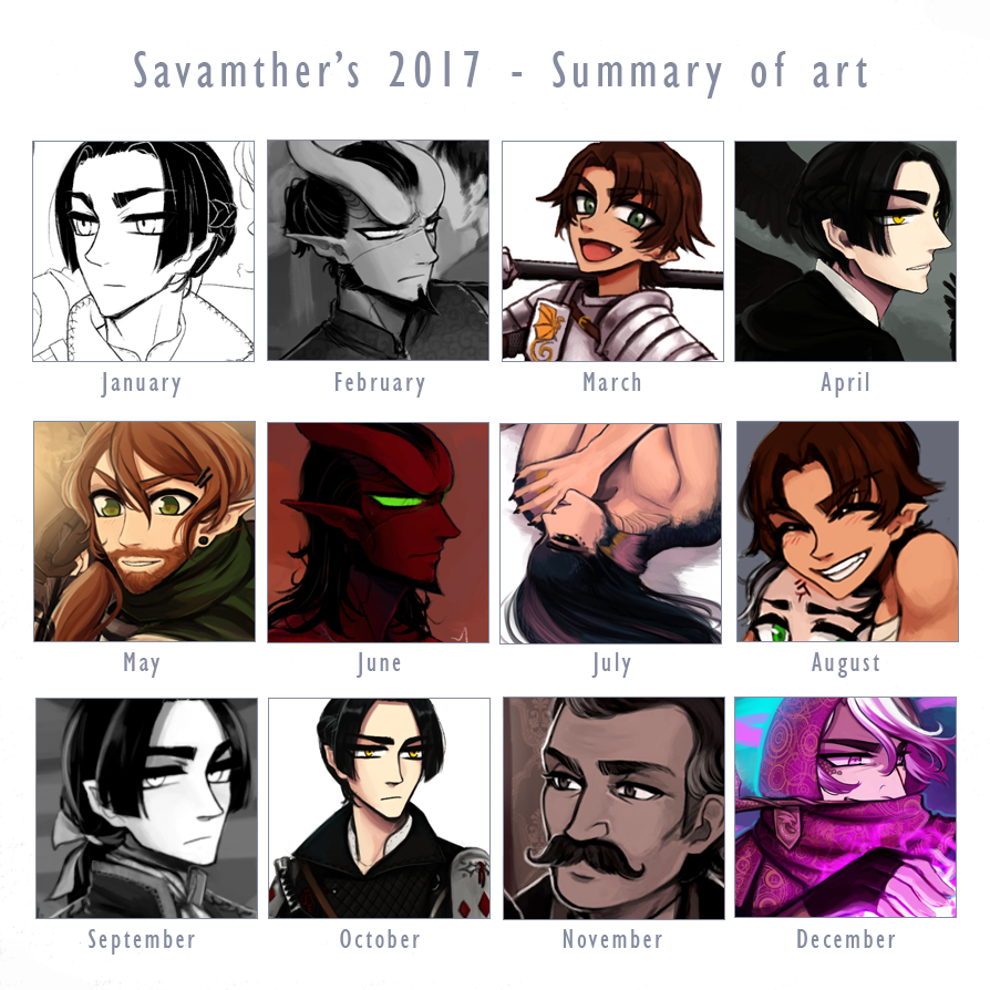 Summary of art 2017 by Savamther