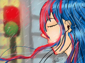Rainy Music by kairin-rokuro