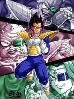 Vegetas Namek battles by BK-81