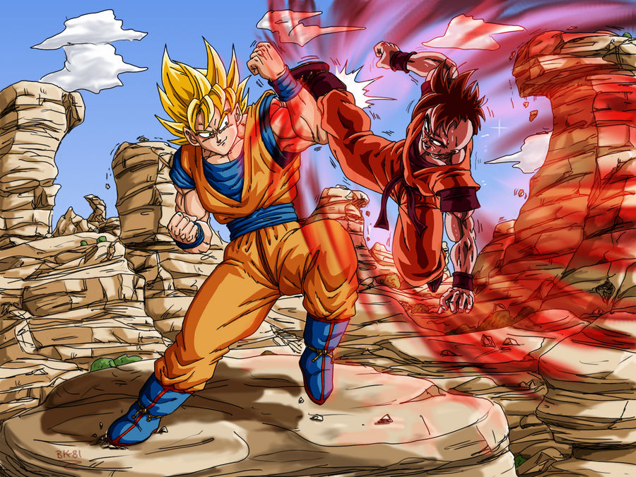 Goku Uub Training Dbm By Bk 81 On Deviantart