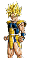 Kakarotto SSj no BG by BK-81