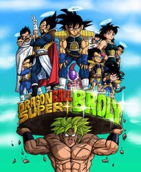 Hype for Broly colored by BK-81