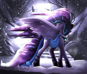 [QnB] The Winter Moon by PaintedWave