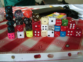 wall of dice by huncyrus