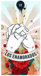 Los enamorados - Tarot by Sheclouds