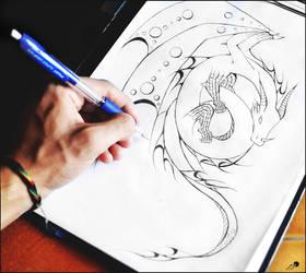 dragon light original by johngiannis27