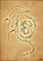 dragon light tattoo design by johngiannis27