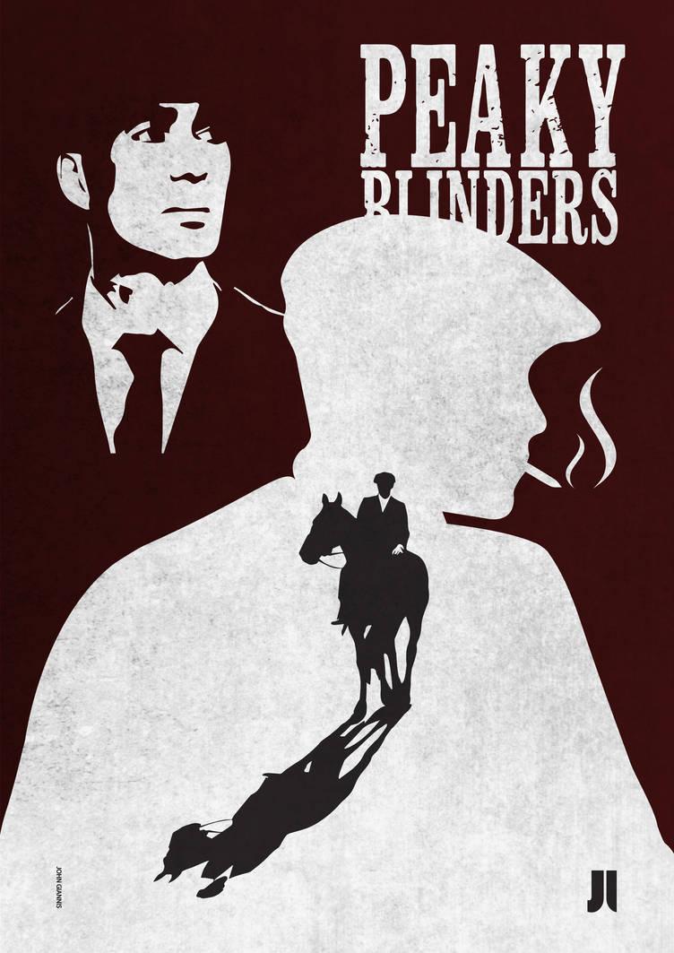 Peaky Blinders -POSTER by johngiannis27
