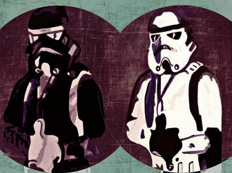 double trouble stormtrooper by pockacho