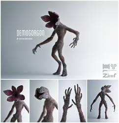 [AT] Demogorgon by ZimtBeadwork