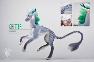 [AT] Critter by ZimtHandmade